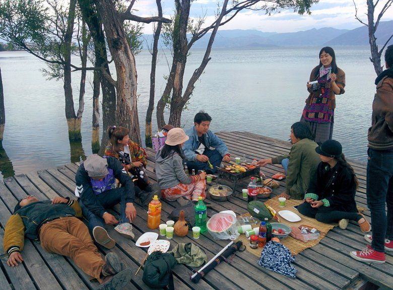 Grillparty China