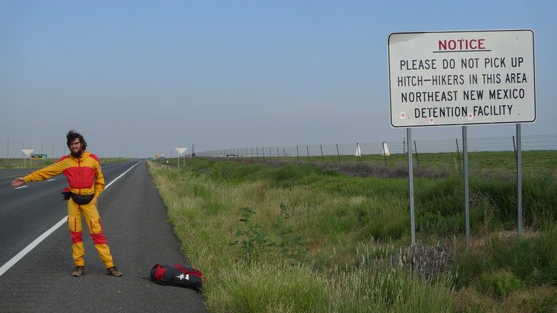 perfect positioning hitchhiking