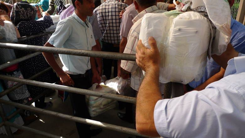 Smuggling parcels into Iran